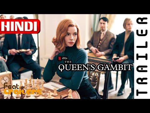 The Queen's Gambit (2020) Season 1 Netflix Official Hindi Trailer #1 | FeatTrailers