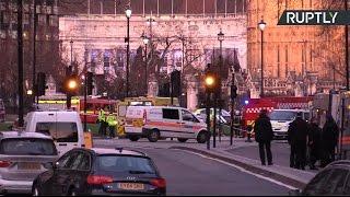 Трансляция с места теракта в центре Лондона