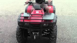 9. 2001 Honda Rancher TRX350 FM ATV