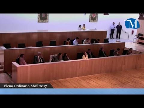 Pleno ordinario de la Diputación mes de abril 2017