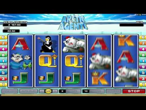 Arctic Agents ™ free slots machine game preview by Slotozilla.com
