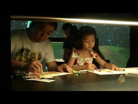 العرب اليوم - شاهد: معرض تفاعلي يخلط بين الواقع والخيال في بكين