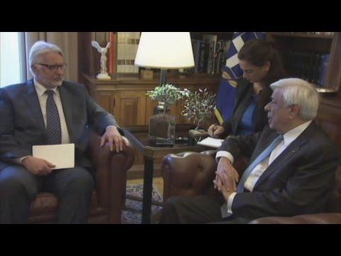 Στο προεδρικό μέγαρο ο υπουργός εξωτερικών της Πολωνίας