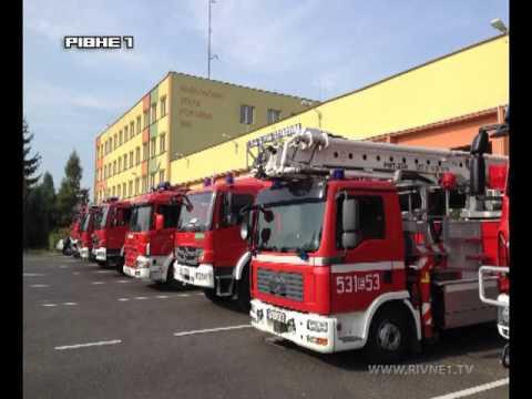 """""""Служба 101"""": Змагання рівненських вогнеборців та співпраця з польськими колегами"""