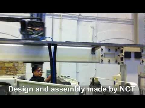 Двухканальное управление в NCT201: станок + робот