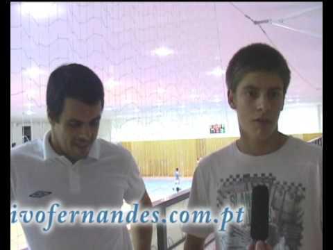 Ivo Fernandes c/ Hugo Santos no Futsal em Cabeceiras