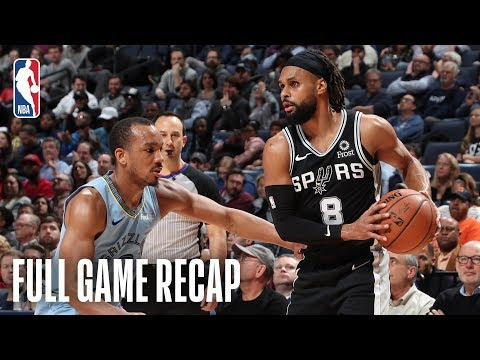 Video: SPURS vs GRIZZLIES | SAS & MEM Battle Down To The Wire! | February 12, 2019