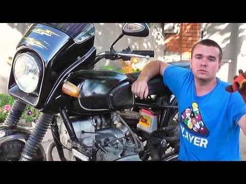 Электро зажигание на мотоцикле урал снимок