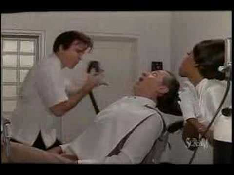 dentist - This is a clip from the movie. Steve Martin is hillarious. I create these for my iPod for when I need a good laugh.