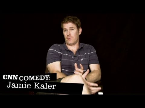 CNN Comedy: Jamie Kaler, 'The Navy was really funny'