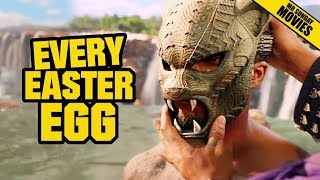 BLACK PANTHER - All Easter Eggs, Post Credit Scenes & MCU Future