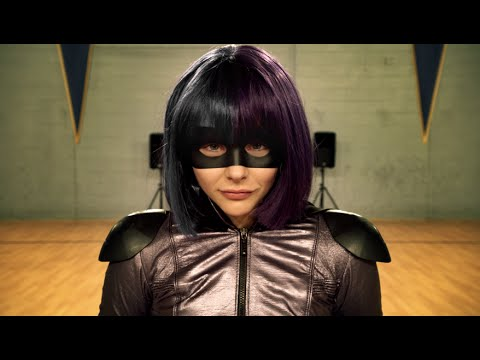 Sia - Unstoppable (Version Kick-Ass) (видео)