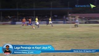 Laga Persiraja vs Kepri Jaya FC, Gol Dianulir Hingga Mogok Bermain