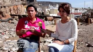 Pulsa para ver el vídeo - La compañera Onalia Bueno comenta el lamentable estado que presenta La Caletilla en Playa de Mogán.
