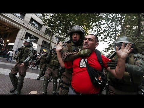 Διαδηλώσεις και επεισόδια στη Χιλή