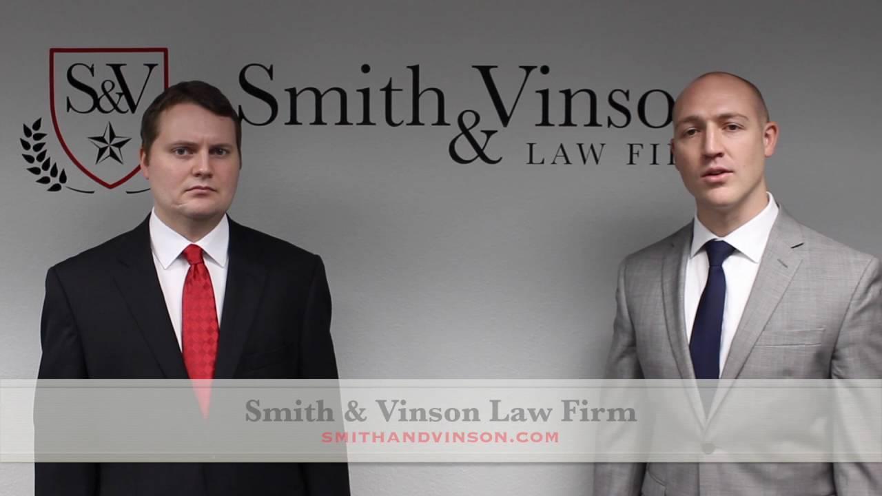 Smith & Vinson Law Firm – DWI Defense – Texas