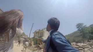 Nuwakot Nepal  city pictures gallery : Live Nepal Earthquake 12th May in Nuwakot while I was eating Lunch