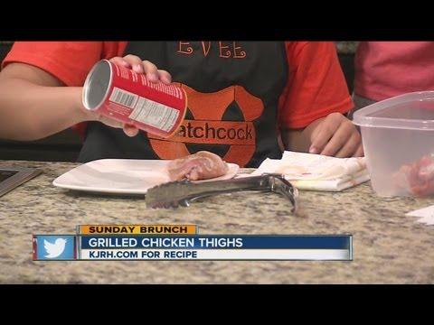 Sunday Brunch:  Tulsa Food Guy's grilled chicken thighs Part I