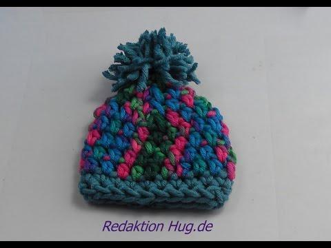 Häkeln – Mütze Mini aus hatnut – Wolle