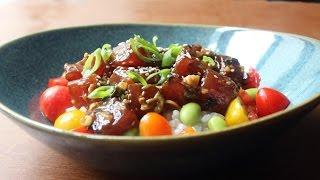 Tuna Poke Recipe - How to Make Hawaiian-Style Ahi Poke by Food Wishes