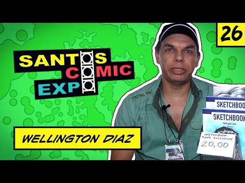 E26 WELLINGTON DIAZ | SANTOS COMIC EXPO 2014