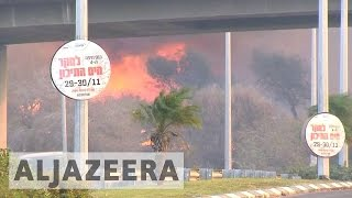 Haifa Israel  city photos : Israel: Thousands ordered to leave after massive fires hit Haifa