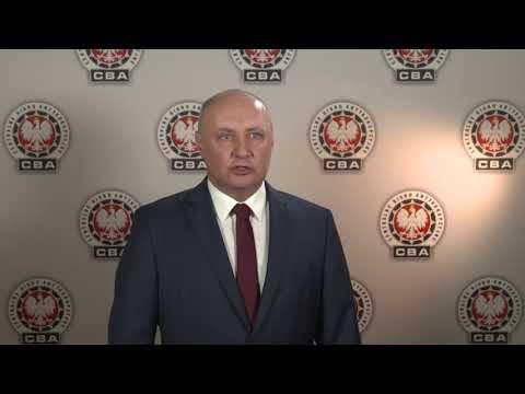 Wideo1: Temistokles Brodowski, rzecznik CBA o zatrzymaniu m.in. przezesa Akwawitu
