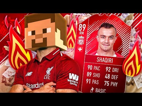 OMG THE LIVERPOOL SHAQIRI! THE ULTIMATE LIVERPOOL TRANSFER SQUAD! FIFA 18 ULTIMATE TEAM