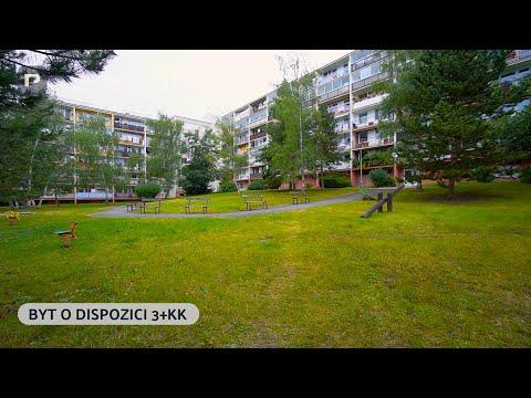 Video Pronájems světlého bytu 3+KK, 82m2, ul. Mrkvičkova, Praha 6 - Řepy