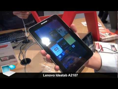 Lenovo Ideatab A2107, 7inch lowcost 3G tablet