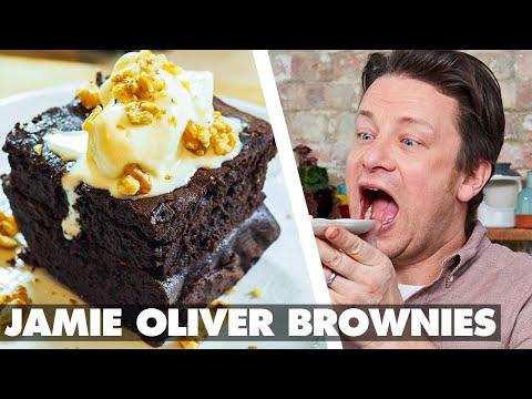 How to Make Chocolate Brownies like @Jamie Oliver