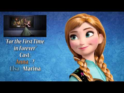 "SING AS ANNA! - ""For The First Time In Forever"" With Marina"