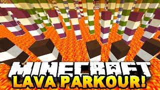 Minecraft LAVA PARKOUR! (Custom Parkour Map!) #5 w/PrestonPlayz&NoochMC