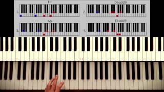 learn how to play all of me on piano