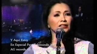 video y letra de Y aqui estoy por Ana Gabriel