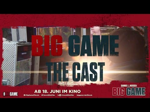 Big Game Big Game (Featurette 'The Cast')