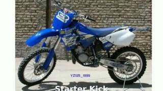 8. 2008 Yamaha YZ 125 - Walkaround, Features