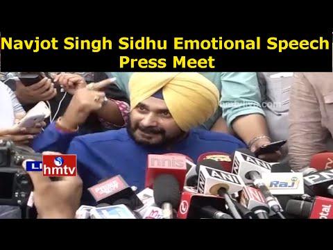 Navjot Singh Sidhu Breaks His Silence,Speaks To Media Aggressively