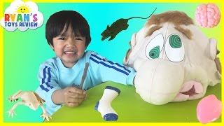 What's in Ned's Head Game for Kids with Egg Surprise Toys
