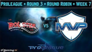 KT Rolster vs MVP - Proleague 2015 - Round Robin : Round 3 - Week 7