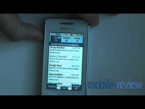 Samsung Star II (S5260) Demo