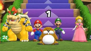 The step it up mode from Mario Party 9 for the Wii, using a hack that allows you to play as Bowser. This hack was created by NintegaDario, whose channel can be found here: https://www.youtube.com/user/NintegaDario-My Twitter https://twitter.com/Typhlosion4Pres