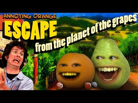 annoying - Watch the ENTIRE season #1 of my TV show on Hulu: http://hulu.com/annoying-orange SPLATTER UP MOBILE GAME!!! iOS: http://bit.ly/SplatterUpFreeiOS ANDROID: ht...