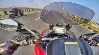 4. Ducati Multistrada 950 Top Speed highway Run   RWR