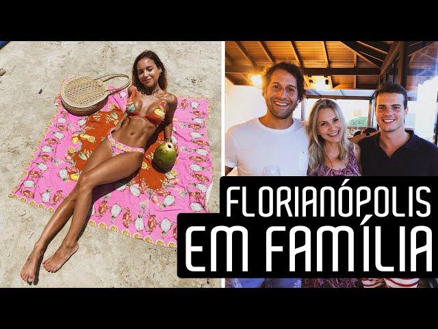 FÉRIAS em FAMÍLIA! Vlog Florianópolis - Luisa Accorsi