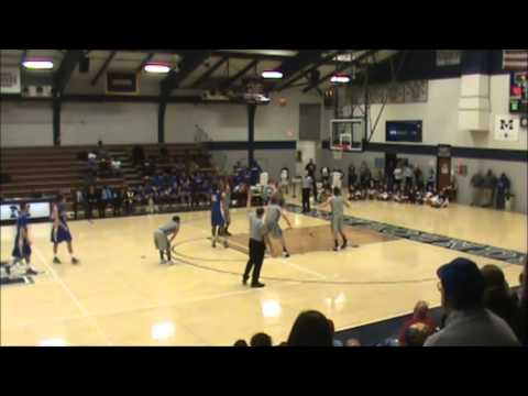 Closing Seconds of Goucher's 3-OT Win over Moravian - 1/11/14