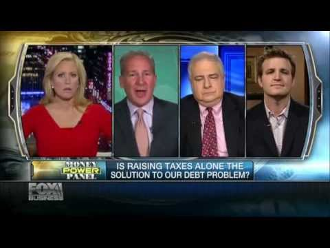 Peter Schiff on Fox Business January 7th 2013
