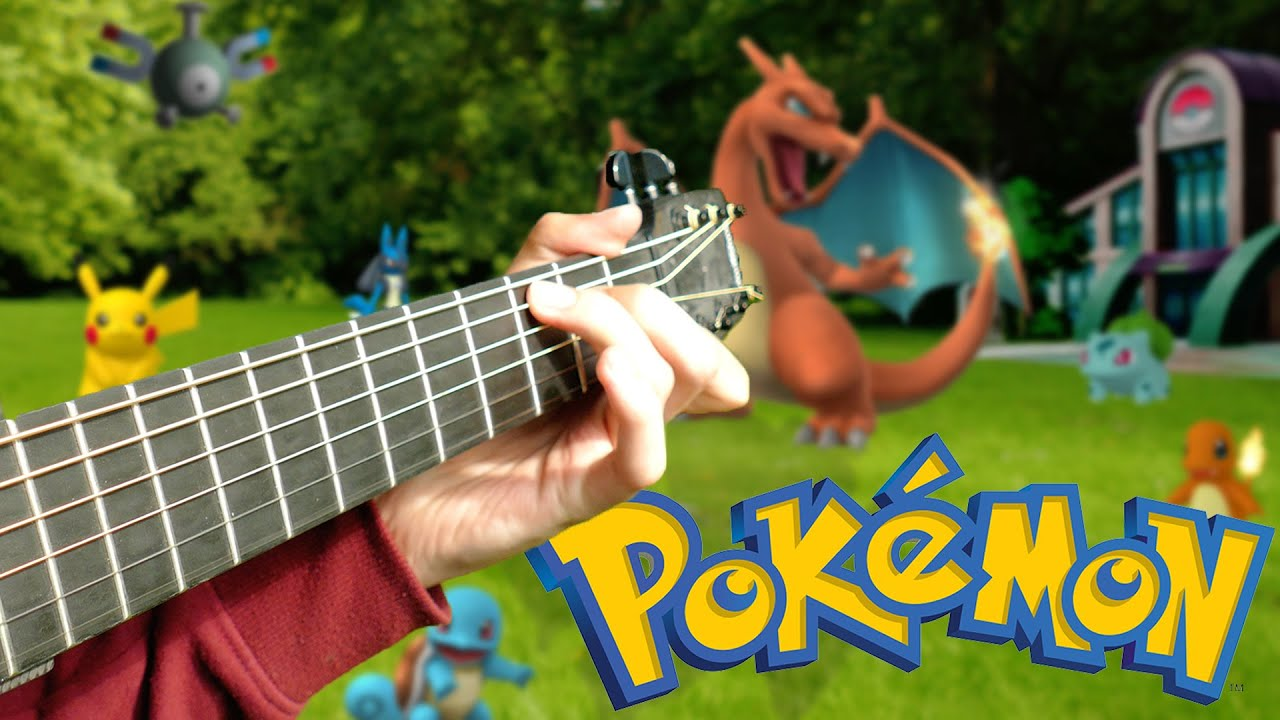Pokémon Theme Song – Fingerstyle Guitar Cover