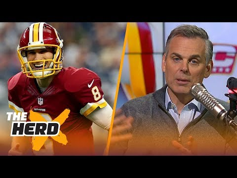 Colin Cowherd reacts to Kirk Cousins signing with Vikings, Talks Drew Brees' impact | THE HERD