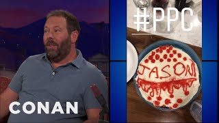 Bert Kreischer Threw His Daughter A Period Party  - CONAN on TBS